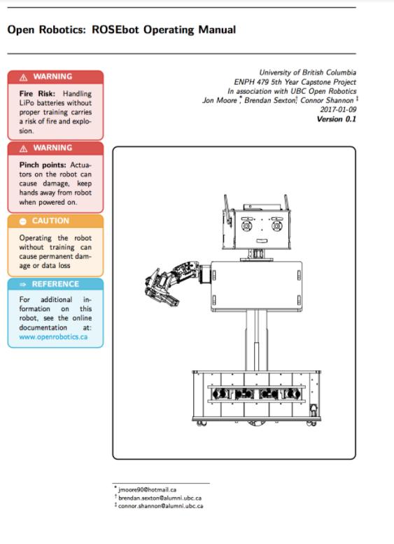 ROSEbot – ROS(Robot Operating System) Educational robot